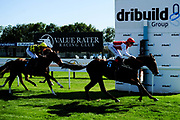 Willa ridden by Fergus Sweeney and trained by Richard Hannon in the Sds Symbiotic Nursery Handicap race. Breck's Selection ridden by David Egan and trained by Mark Johnston in the Sds Symbiotic Nursery Handicap race.  - Ryan Hiscott/JMP - 14/09/2019 - PR - Bath Racecourse - Bath, England - Race Meeting at Bath Racecourse