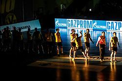 Opening Ceremony during handball match between RK Gorenje Velenje and RK Celje Pivovarna Lasko in SEHA league, Round 1, on 30th of August , 2017 in Rdeca Dvorana, Velenje, Slovenia. Photo by Grega Valancic/ Sportida