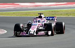 March 6, 2018 - Barcelona, Spain - Testvecka 2, Formel 1, Barcelona ..Sergio Perez, Force India (Credit Image: © JerrevÃ…Ng Stefan/Aftonbladet/IBL via ZUMA Wire)