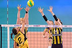 09-04-2016 ITA: CEV DenizBank Champions League Fenerbahce Grundig Istanbul - VakıfBank Istanbul, Montichiari<br /> Vakifbank wint met 3-0 en plaatst zich voor de finale / Gözde Kirdar of Vakifbank Istanbul<br /> <br /> ***NETHERLANDS ONLY***