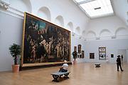 Kunsthalle, innen, Hamburg, Deutschland Verwendung nur mit Genehmigung der Kunsthalle.|.art museum Kunsthalle, interior, Hamburg, Germany