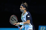 Spain's David Ferrer during the Barclays ATP World Tour Finals at the O2 Arena, London, United Kingdom on 13th November 2014 © Phil Duncan | Pro Sports Images