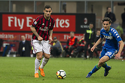 April 8, 2018 - Milan, Milan, Italy - 8th April 2018, San Siro, Milan, Italy; Serie A football, AC Milan versus US Sassuolo; Suso of AC Milan (Credit Image: © Gaetano Piazzolla/Pacific Press via ZUMA Wire)