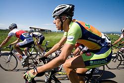Vladimir Kerkez (SLO) of Sava at 2nd stage of Tour de Slovenie 2009 from Kamnik to Ljubljana, 146 km, on June 19 2009, Slovenia. (Photo by Vid Ponikvar / Sportida)