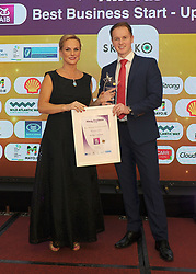 Winner of the Best Business Start-Up at the Mayo Business Awards was won by Skillo Ltd AIB presented the award to  at the awards night in the Broadhaven Hotel Belmullet.<br />