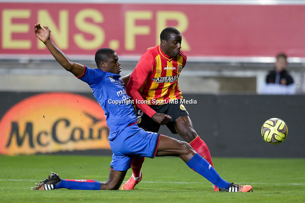 Adamo COULIBALY - 19.12.2014 - Lens / Nice - 19e journee Ligue 1<br />Photo : Aurelien Meunier / Icon Sport