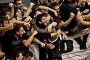 DESCRIZIONE : Pistoia Lega A 2014-2015 Giorgio Tesi Group Pistoia Granarolo Bologna<br /> GIOCATORE : tifosi Okaro White<br /> CATEGORIA : tifosi esultanza<br /> SQUADRA : Granarolo Bologna<br /> EVENTO : Campionato Lega A 2014-2015<br /> GARA : Giorgio Tesi Group Pistoia Granarolo Bologna<br /> DATA : 09/11/2014<br /> SPORT : Pallacanestro<br /> AUTORE : Agenzia Ciamillo-Castoria/GiulioCiamillo<br /> GALLERIA : Lega Basket A 2014-2015<br /> FOTONOTIZIA : Pistoia Lega A 2014-2015 Giorgio Tesi Group Pistoia Granarolo Bologna<br /> PREDEFINITA :