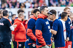 15.05.2016, Red Bull Arena, Salzburg, AUT, 1. FBL, FC Red Bull Salzburg, Meisterfeier, im Bild Trainer Oscar Garcia (Red Bull Salzburg) // Trainer Oscar Garcia (Red Bull Salzburg) during the FC Red Bull Salzburg Champions Party of Austrian Football Bundesliga at the Red Bull Arena, Salzburg, Austria on 2016/05/15. EXPA Pictures © 2016, PhotoCredit: EXPA/ JFK