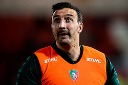 Will Spencer of Leicester Tigers - Mandatory by-line: Robbie Stephenson/JMP - 16/11/2018 - RUGBY - Kingsholm - Gloucester, England - Gloucester Rugby v Leicester Tigers - Gallagher Premiership Rugby