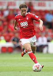 Matty Cash of Nottingham Forest in action - Mandatory by-line: Jack Phillips/JMP - 30/07/2016 - FOOTBALL - The City Ground - Nottingham, England - Nottingham Forest v Hull City - Pre-Season Friendly