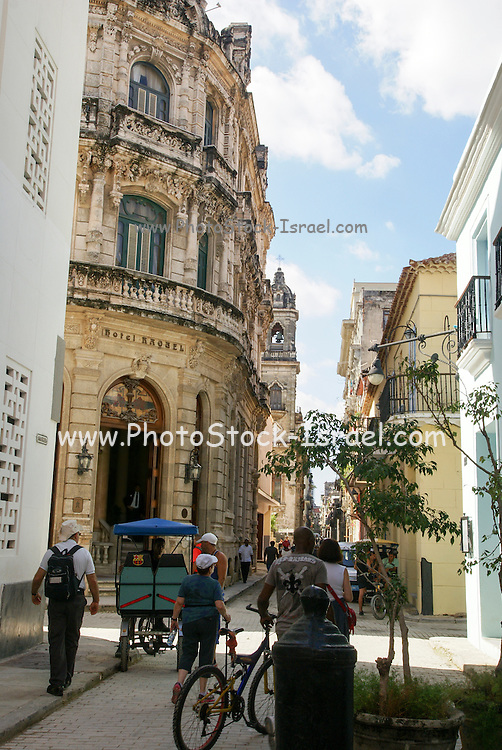 Havana, Cuba, Old Town, the narrow streets