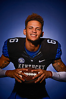 2015 University of Kentucky Football Team portraits on Wednesday June 3, 2015.<br /> <br /> Photos by William DeShazer