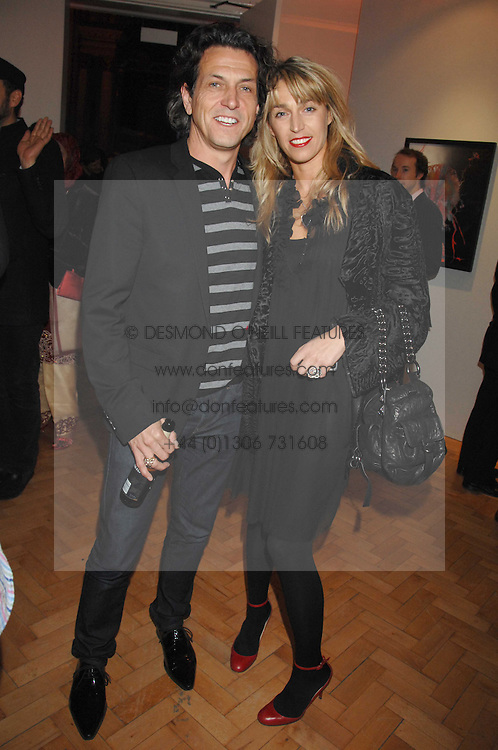 STEPHEN & ASSIA WEBSTER at the TOD's Art Plus Film Party 2008 hosted by The Whitechapel Art Gallery at a former church at 1 Marylebone Road, London NW1 on 6th March 2008.<br /><br />NON EXCLUSIVE - WORLD RIGHTS