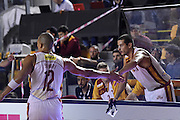 Massimo Chessa Daniele Sandri<br /> Unicusano Roma - Benacquista Assicurazioni Latina<br /> Campionato Basket LNP 2016/2017<br /> Roma 06/11/2016<br /> Foto Ciamillo-Castoria