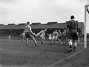 28/04/1957<br /> 04/28/1957<br /> 28 April 1957<br /> F.A.I. Cup Final: Shamrock Rovers v Drumcondra at Dalymount Park, Dublin.
