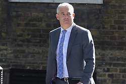 © Licensed to London News Pictures. 14/05/2019. London, UK. Stephen Barclay- Brexit Secretary arrives in Downing Street for the weekly Cabinet meeting. Photo credit: Dinendra Haria/LNP