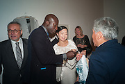 OSWALD BOATENG; MARIKO MORI, Gala Opening of RA Now. Royal Academy of Arts,  8 October 2012.