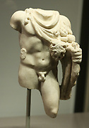Statuette of Silvanus Marble Second Century AD.