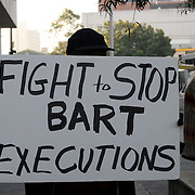 FIGHT TO STOP BART EXECUTIONS!