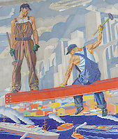 Union Terminal Murals Cincinnati Ohio