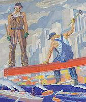 Union Terminal Murals Cincinnati Ohio