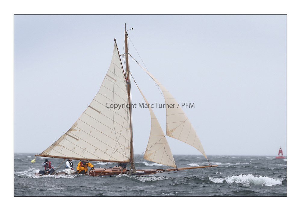 Day two of the Fife Regatta,Passage race to Rothesay.<br /> <br /> Oblio, Gordon Turner, GBR, Gaff Cutter, Wm Fife 3rd, 2007<br /> * The William Fife designed Yachts return to the birthplace of these historic yachts, the Scotland&rsquo;s pre-eminent yacht designer and builder for the 4th Fife Regatta on the Clyde 28th June&ndash;5th July 2013<br /> <br /> More information is available on the website: www.fiferegatta.com