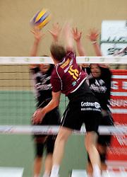 04.11.2010, Union Halle, Graz, AUT, AVL, UVC Graz vs. TSV Hartberg, im Bild  tomek Dynkowski (TSV #16), EXPA Pictures © 2010, PhotoCredit: EXPA/ Erwin Scheriau