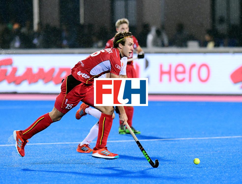 Odisha Men's Hockey World League Final Bhubaneswar 2017<br /> Match id:18<br /> Belgium v Spain<br /> Foto: Manu Stockbroekx (Bel) <br /> COPYRIGHT WORLDSPORTPICS FRANK UIJLENBROEK