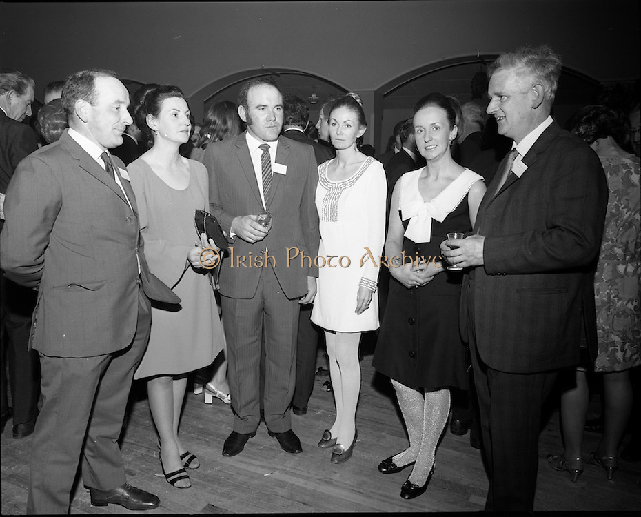 20/04/1970<br /> 04/20/1970<br /> 20 April 1970<br /> Tynagh Mines Dinner Dance at Loughrea, Co. Galway. Mr. Keane MRCVS.I; Mrs Keane; Mr. N (V?). Murray, MRCVS.I; Mrs Murray; Mrs S. Sweeny and Mr. S. Sweeny, Loughrea.