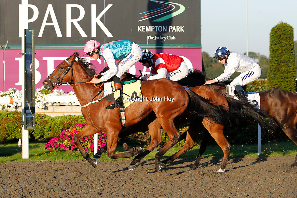Aspirant and Richard Hughes winning the 6.30 race