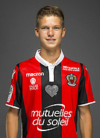 Vincent Koziello during a photoshoot of Nice on 3rd September 2017<br /> Photo : OGC Nice / Icon Sport