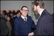 DEXTER DALWOOD; GARY WATERSTONE, Dexter Dalwood. - London Paintings, private view, simon lee gallery, 12 berkeley st. w1. 17 Nov 2014