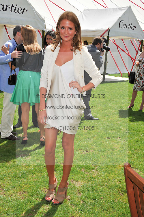 MILLIE MACKINTOSH at the 27th annual Cartier International Polo Day featuring the 100th Coronation Cup between England and Brazil held at Guards Polo Club, Windsor Great Park, Berkshire on 24th July 2011.