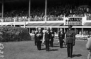 O'Ceallaigh, Sean T and Presidential Party at RDS Show.08/08/1952
