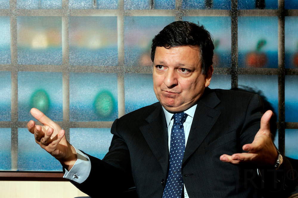 BRUSSELS - BELGIUM - 13 FEBRUARY 2006 --Interview with Jose Manuel BARROSO, President of the EU Commission. PHOTO: ERIK LUNTANG /