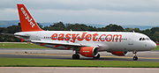 easyJet at Manchester Airport, Manchester, United Kingdom on 14 March 2020.