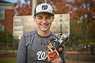 Sam Alswang Baseball Portrait 2018