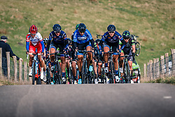 Group on the VAM-berg during the UCI Women's WorldTour Ronde van Drenthe at Drenthe, The Netherlands, 11 March 2017. Photo by Pim Nijland / PelotonPhotos.com | All photos usage must carry mandatory copyright credit (Peloton Photos | Pim Nijland)