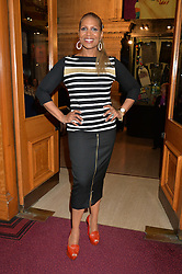 DENISE PEARSON at the Cirque Du Soleil's VIP performance of Kooza at The Royal Albert Hall, London on 6th January 2015.
