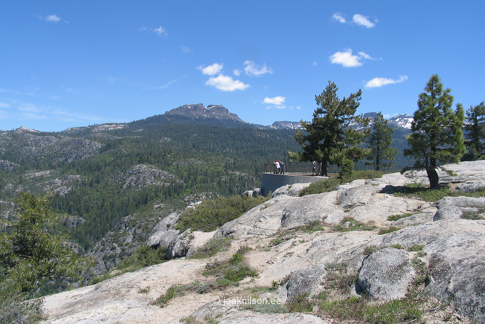 Donnell Vista by Highway 108, Sierra Nevada  Mountains, California, USA