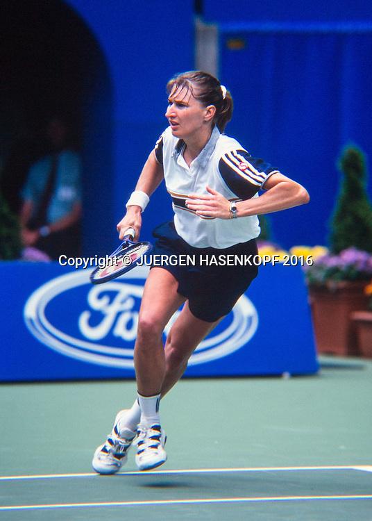 Steffi Graf (GER), Australian Open 1997<br /> <br /> Tennis - Australian Open 1997 - Grand Slam ATP / WTA -  Melbourne Park - Melbourne - Victoria - Australia  - 25 December 2016.