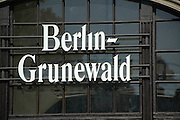 Berlin Grunewald railway station Starting on 18 October 1941 until February 1945 the adjacent goods station was one of the major sites of deportation of the Berlin Jews