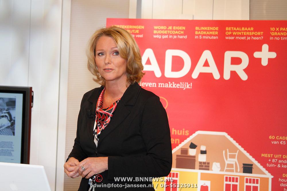 NLD/Hilversum/20111117 - Lancering magazine Radar+,
