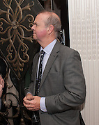 IAN HISLOP, Juliet Nicolson - book launch party for  her latest novel Abdication, about British society after the death of George V.  The Gallery at The Westbury, 37 Conduit Street, Mayfair, London, 12 June 2012