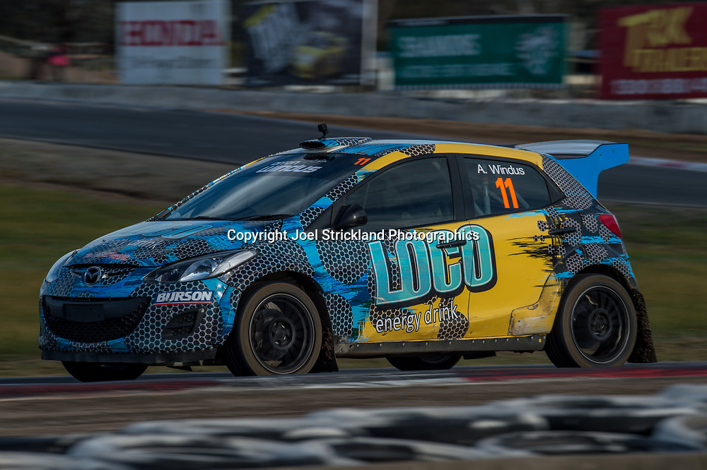 Arron Windus - Mazda 2 - Rallycross Australia - Winton Raceway - 16th July 2017