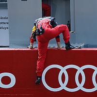 Leena Gade, Lead Engineer #1 Audi, at Le Mans 24H 2013