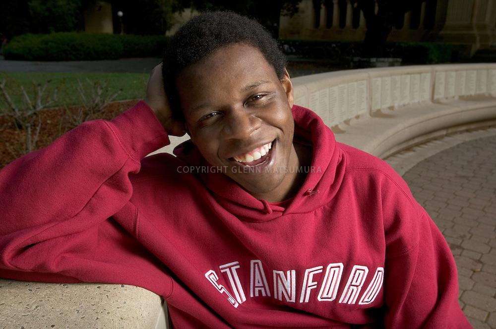 Stanford transfer student, Tapiwa Mabaye