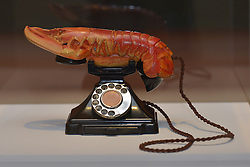 Lobster Telephone, Salvador Dali, Scottish National Gallery of Modern Art  (Modern One) Surreal Encounters Collection, Edinburgh, 2nd June 2016, <br /> (c) Brian Anderson | Edinburgh Elite media