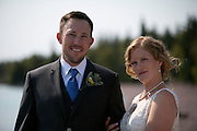 Amelia and jesse Wedding Grand Marais Mn. at North House Folk School