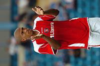 Photo: Tony Oudot.<br /> Gillingham v Charlton Athletic. Pre Season Friendly. 28/07/2007.<br /> Chris Iwelumo of Charlton Athletic